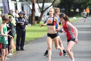 Emma Files hands off to Sarah Guy