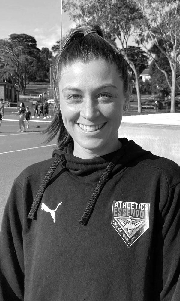 Photo of Athletics Coach Izzy Geradi